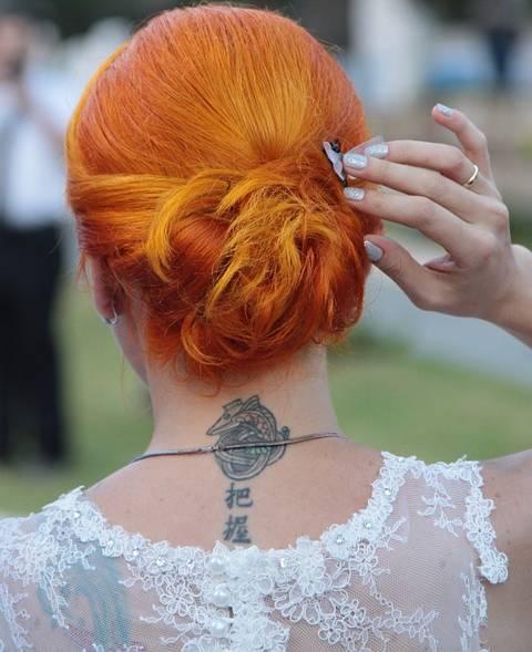 cabelo coque noiva pixabay