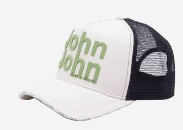 JOHN JOHN_BONÉ JOHN JOHN ORIGINAL 8 OFF WHITE MASCULINO_R$198,00_33.31.0739_11_15