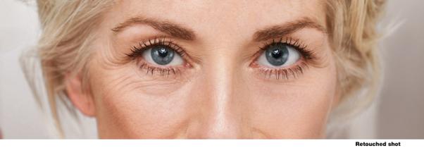 olhos mulher meia idade