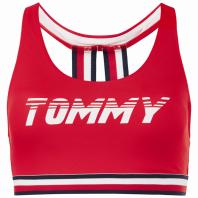 Tommy Hilfiger - Preço sob consulta UW0UW00985682 GIGI HADID CROP TOP_RED