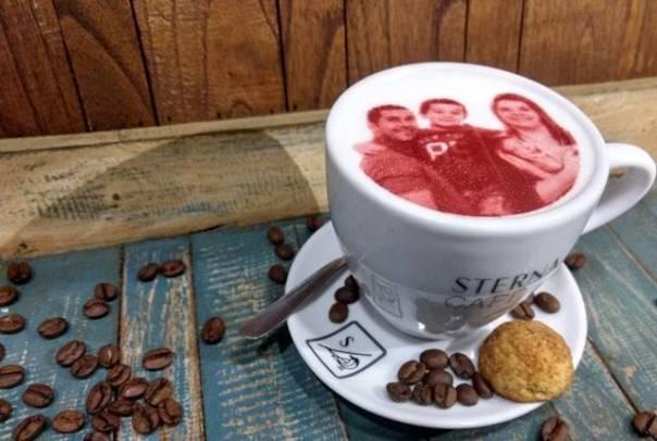 café com foto