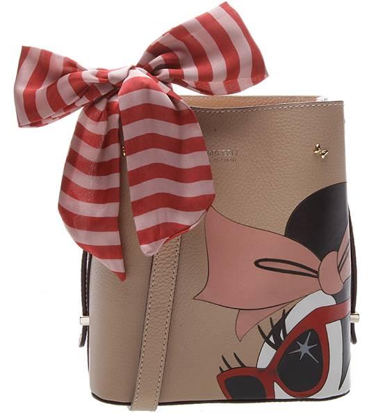 Disney x Arezzo Bolsa Couro Tiracolo Pequena Minnie Laço R 799,90    ederepente50 d9fdcfa415