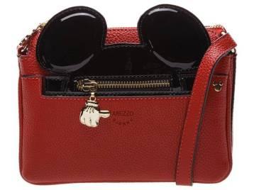 Disney x Arezzo Bolsa Tiracolo Pequena Mickey R$499,90