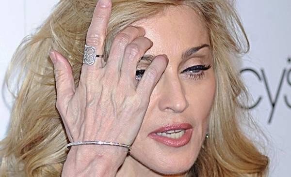 madonna mãos veias