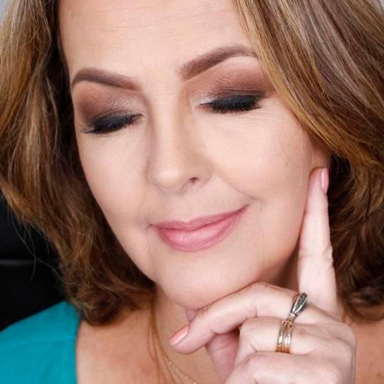 maquiagem-pele-madura mulher