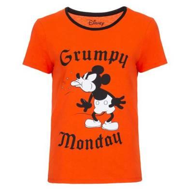 MARISA 10034299005 - Camiseta Manga Curta Mickey Grumpy - R$25,99