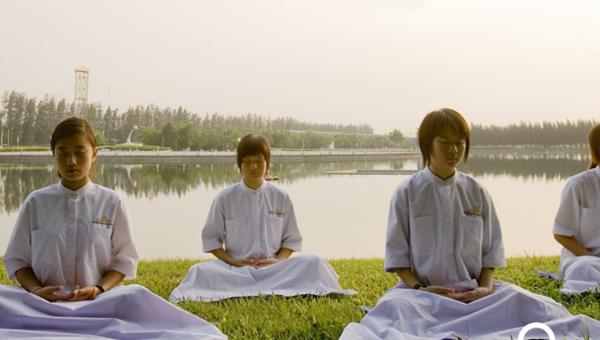 meditacao em grupo