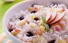 cantinho vegetariano arroz com maçã