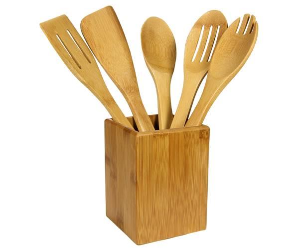 camicado_jogo de utensílios bambus 6 peças