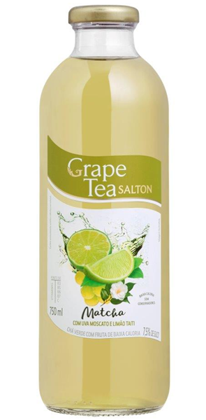 grape tea matcha