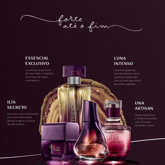 natura perfumes intensos