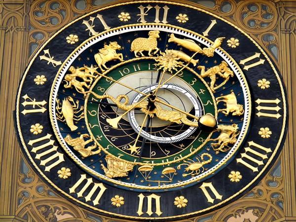 relogio astronomico zodiaco signos astrologia pixabay