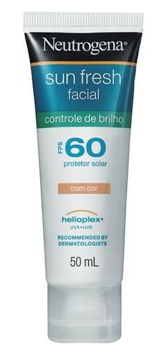 protetor-solar-facial-com-cor-neutrogena-sun-fresh-controle-de-brilho-fps-60
