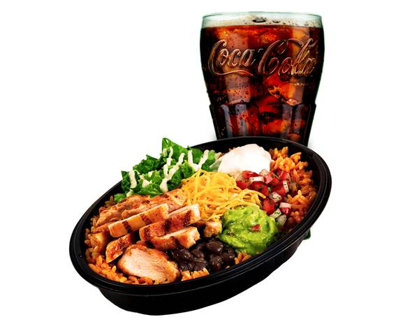 Taco Bell_Power Bowl_Combo