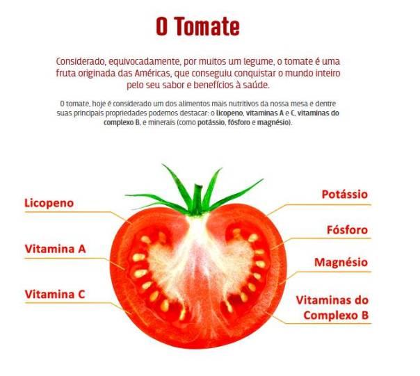 tomate propriedades