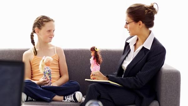 criança psicologa