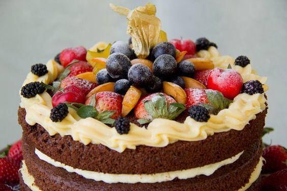 naked cake vegano pinterest