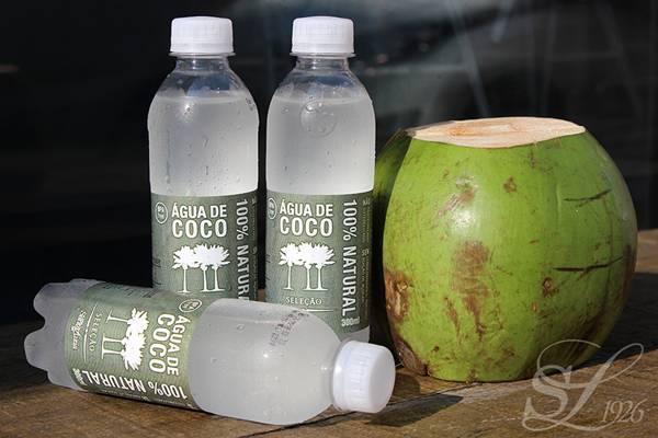 agua de coco santa luzia