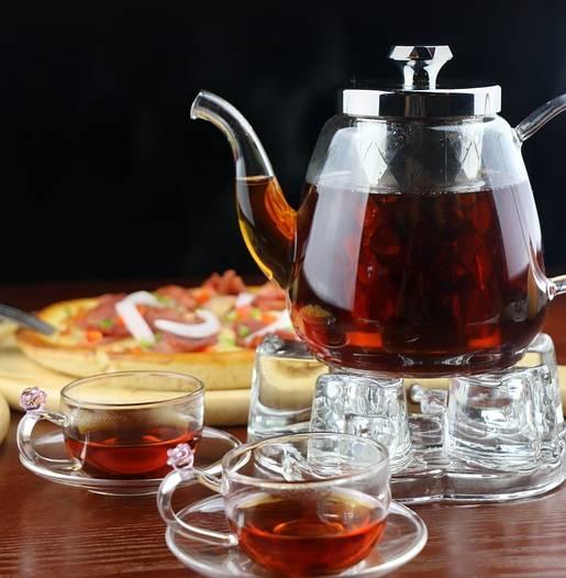 chá preto pixabay