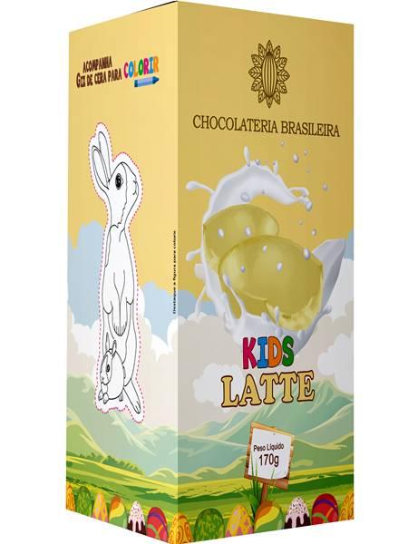 CHOCOLATERIA BRASILEIRA_Ovo de chocolate Branco com recheio de brigadeiro branco_R$ 21 90