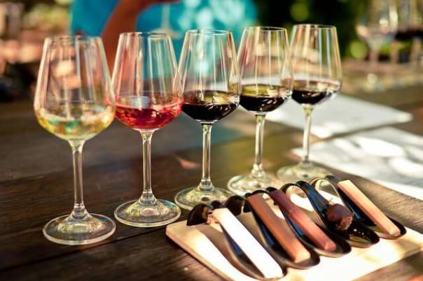 vinhos e chocolates