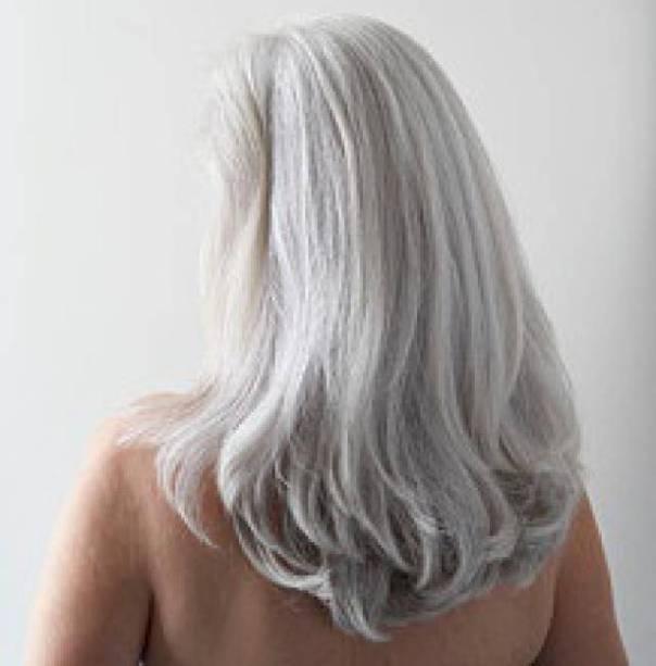 cabelos grisalhos pinterest