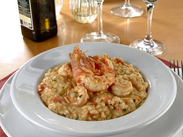 Restaurante Giardino Menu dia dos Namorados 2019 Risoto Gamberi