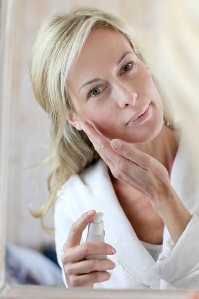 shutterstock mulher pele rosto