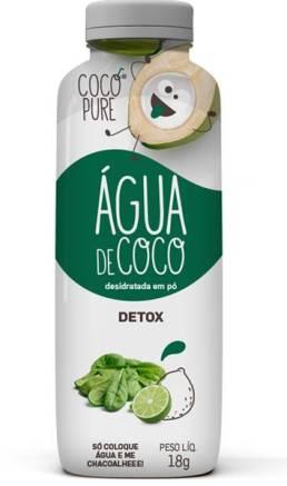 agua de coco detox