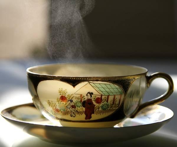 chá quente pixabay