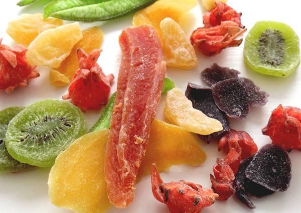 frutas secas cristalizadas pixabay