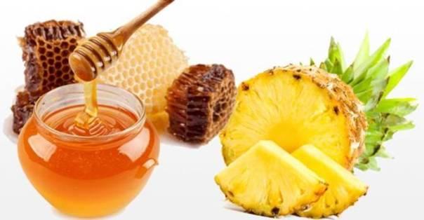 abacaxi e mel