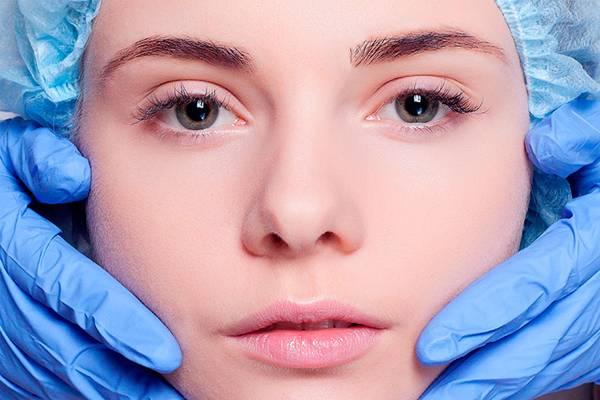 rosto procedimento tratamento