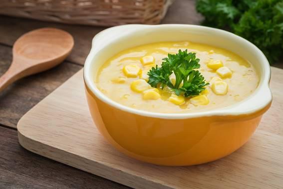 sopa de milho verde df