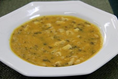 sopa feijão branco com lombo