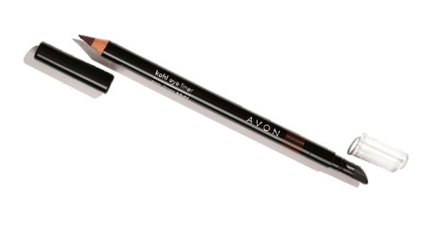 Avon True Lápis 2 em 1 para esfumar olhos marrom