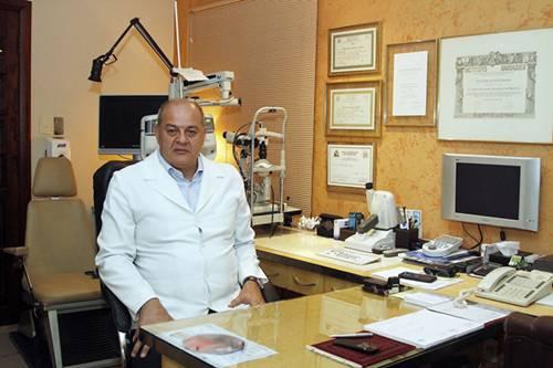 Oftalmologista Hilton Medeiros