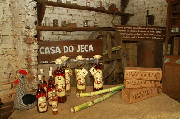 Casa do Jeca Cachaça Mazzaropi - P