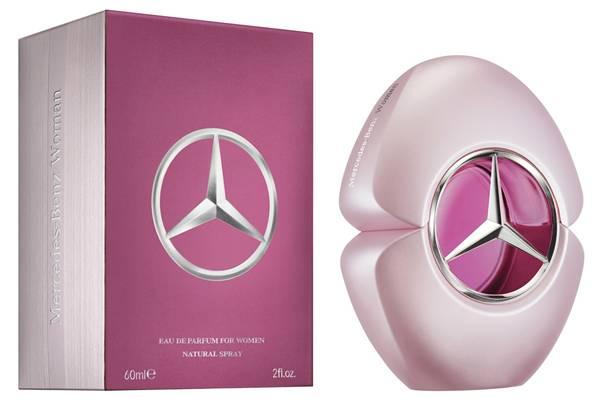 mercedes benz woman parfum