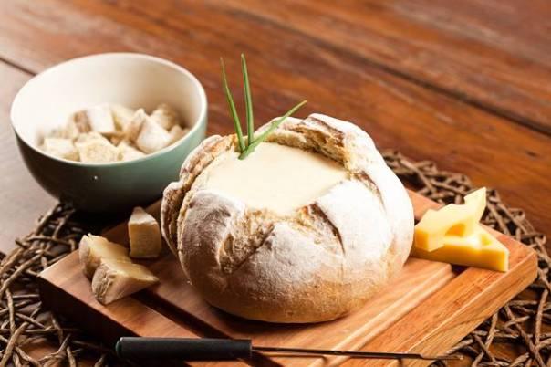 queijo no pao