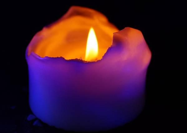 vela violeta pixabay
