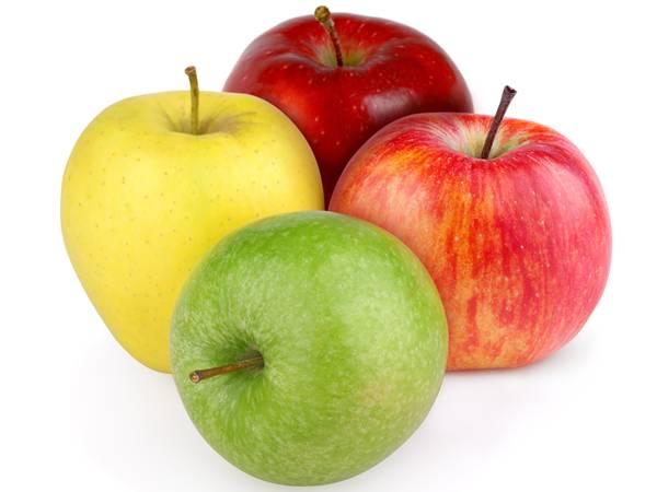 4-pommes maçãs