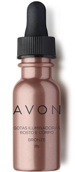 Avon Gotas Iluminadoras Rosto e Corpo Bronze 2