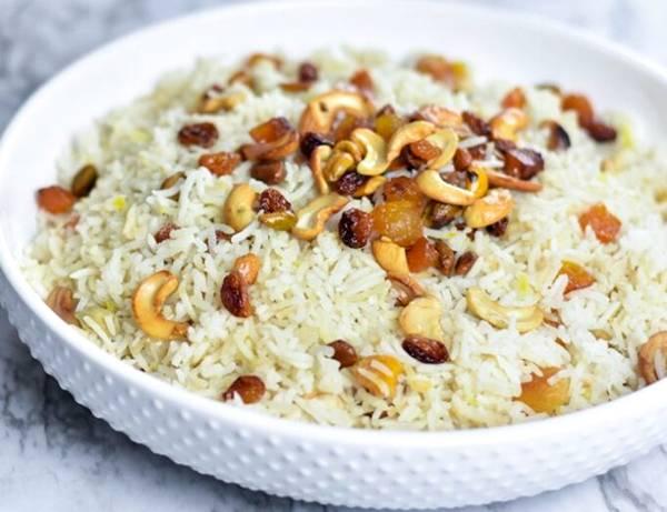 arroz com castanha e frutas secas foodneverythingelse