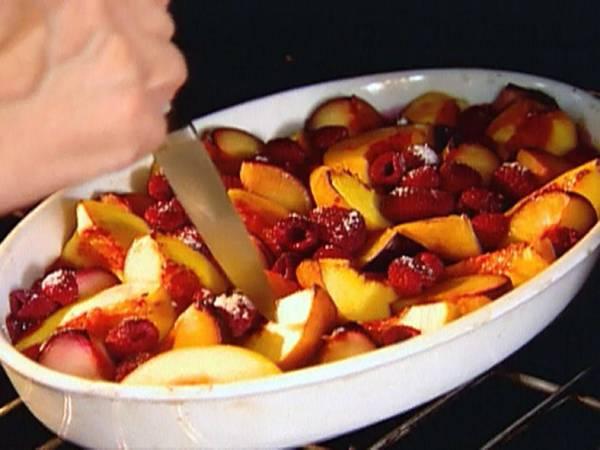 fruta assada food network