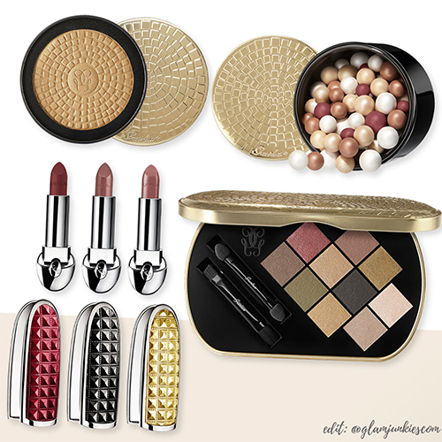 Guerlain-Goldenland-Holiday-2019-Collection-Lidschatten-Palette-Météorites-Terracotta-Rouge-G-Beauty-News-Deutschland-kaufen-Swatches