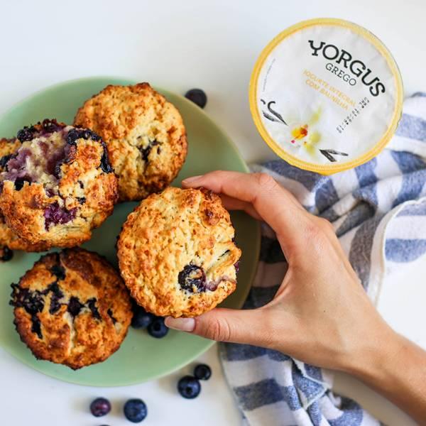Muffin de Blueberries