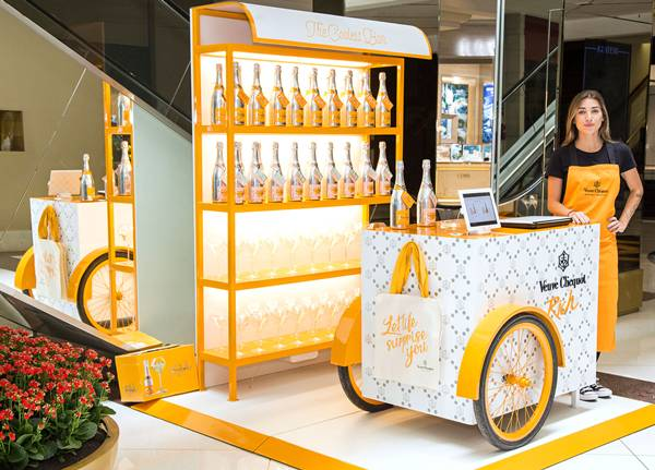 pop up store Clicquot (1)