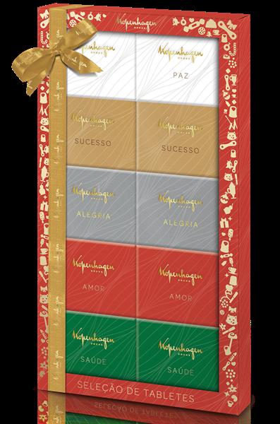 Seleção de Tabletes de Natal