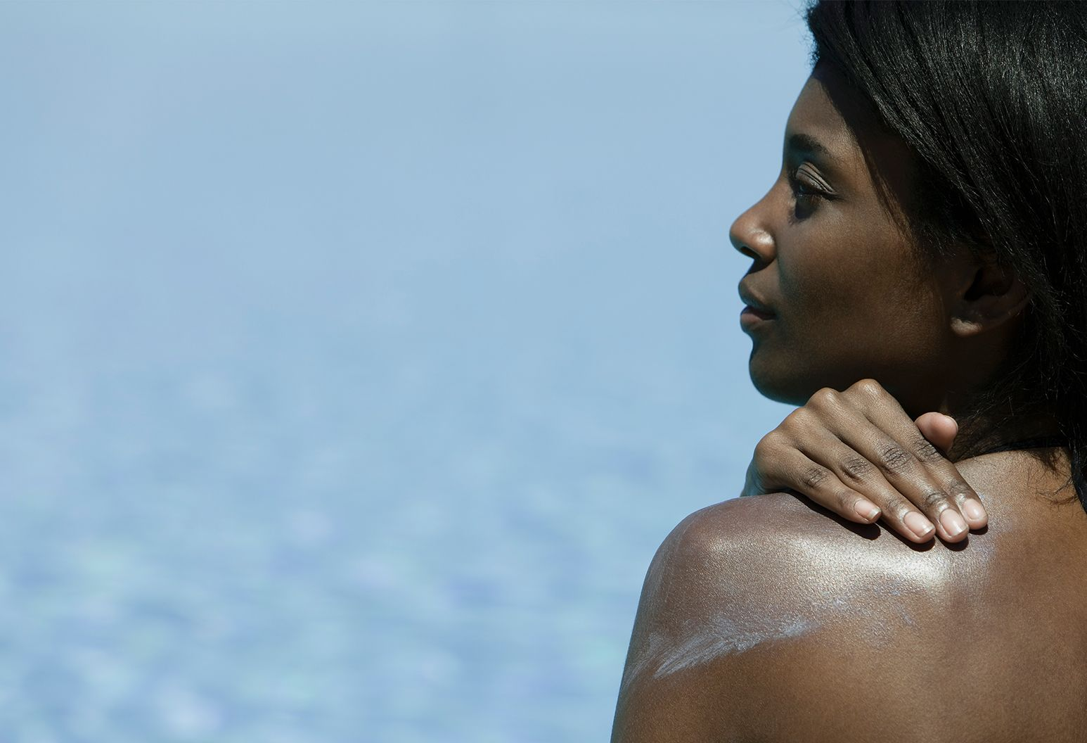 GettyImages- mulher negra protetor solar
